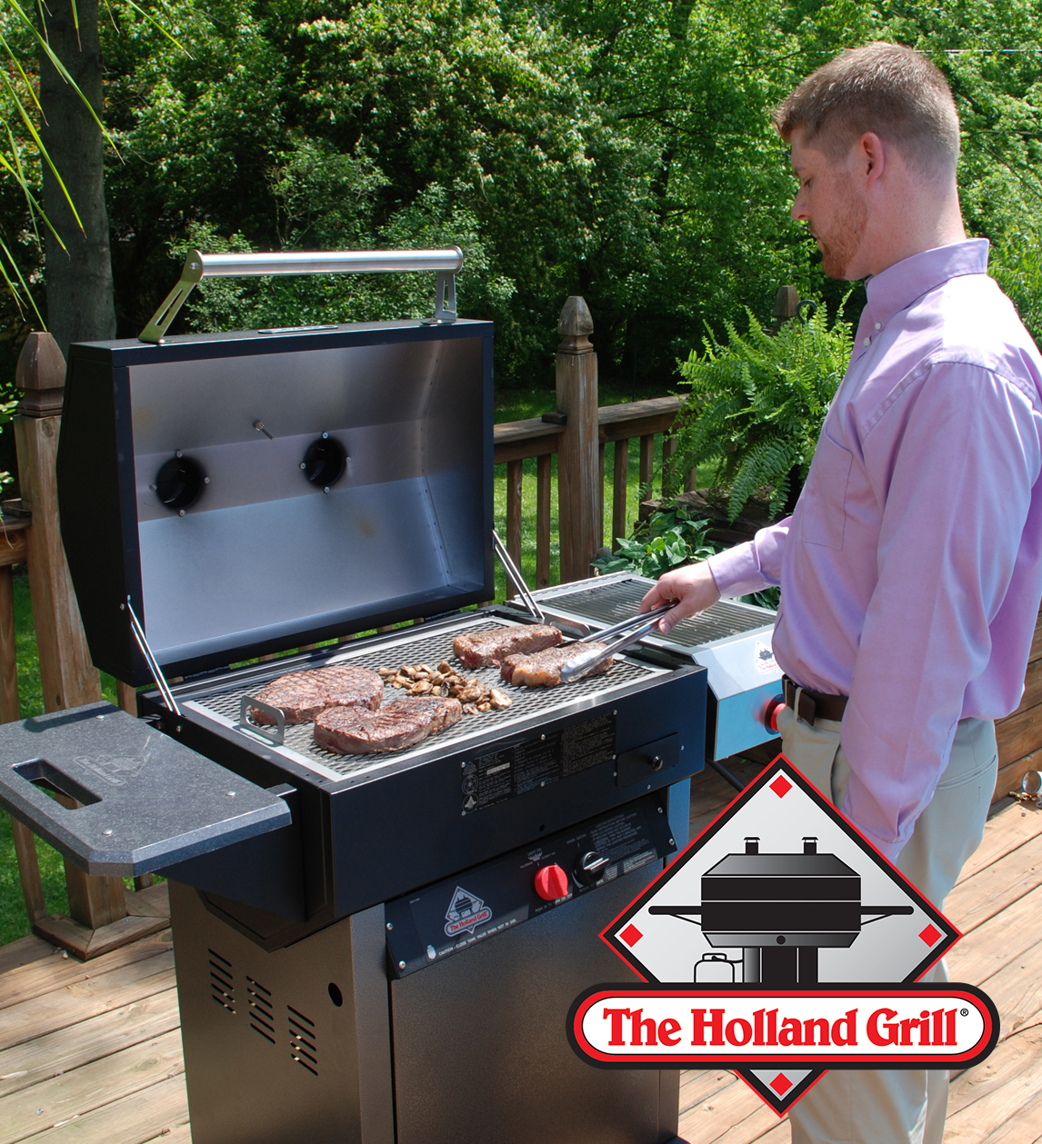 Tired Of Fighting The Fire On An Ordinary Gas Grill Our Exclusive Drip Pan Is Between Food And Flame So Won T Catch