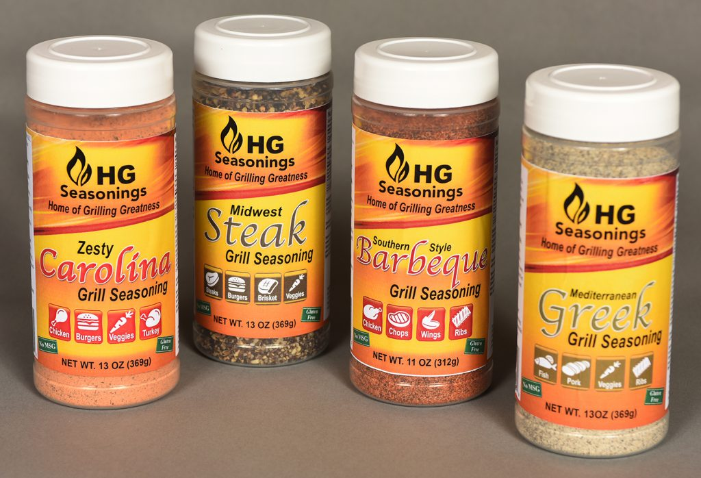 Hg Grill Seasonings Hg Distributing